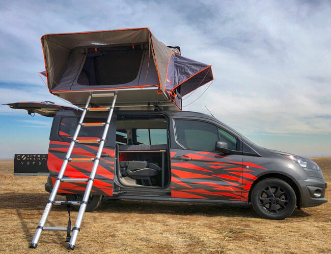 Instead of an Average New Car, Why Not Buy This 5-Person Camper Van?