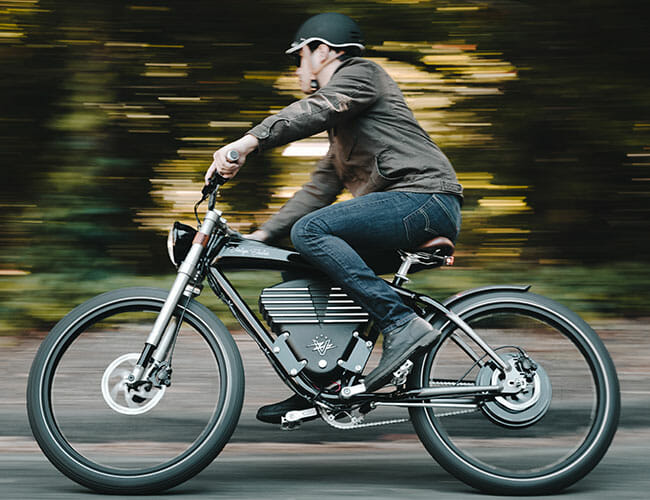 Need for E-Bike Speed? This Vintage Electric Roadster Goes 36 Miles per Hour