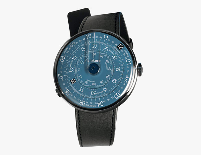 This Affordable and Inventive Watch Now Comes in a Gorgeous Shade of Blue