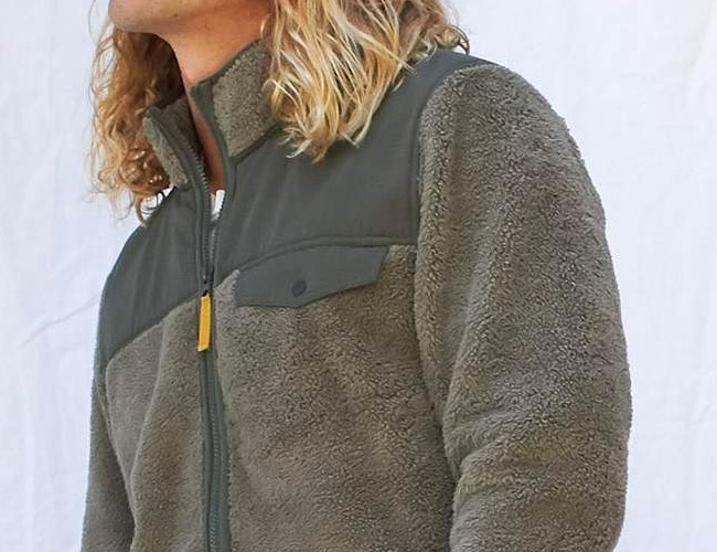 Outerknown's Sustainable Fleece Jacket Is Perfect for Fall