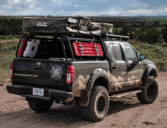Nissan Built a Fleet of Custom Overlanders. We Drove Them to the Grand Canyon