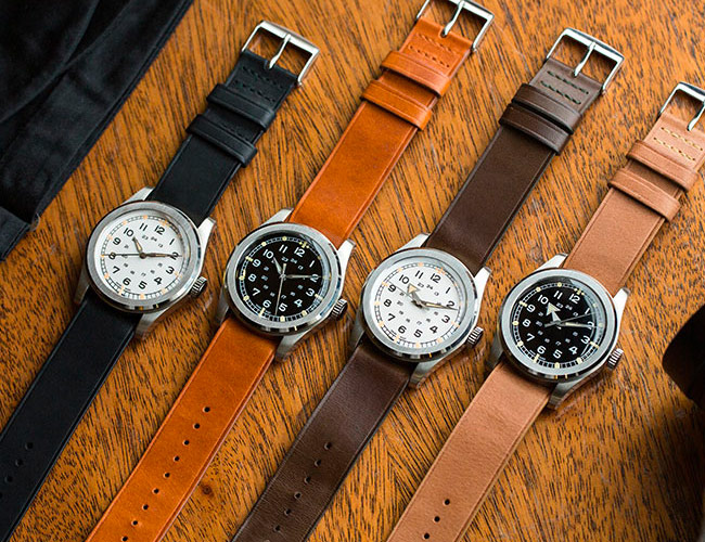 This Brand is Resurrecting a Favorite Military Watch Design