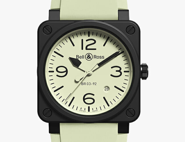 This Watch Fulfills Your Childhood Obsession with Things That Glow in the Dark