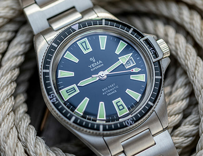 This Limited Edition Dive Watch Is Packed With '60s Panache
