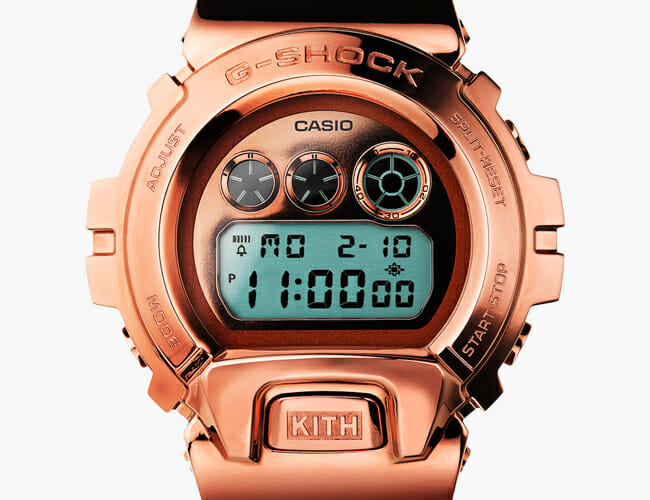 This Swanky Rose Gold G-Shock is Affordable and Tough as Ever