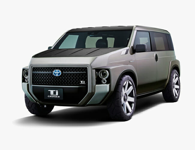 Toyota May Drop a Wild, Boxy Cousin of the Land Cruiser This Spring