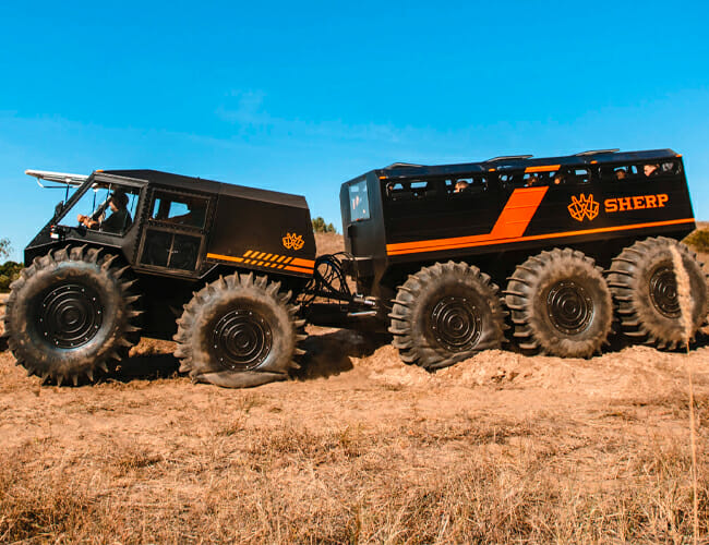 Survive the Apocalypse With Ease in This Earth-Bound Mars Rover