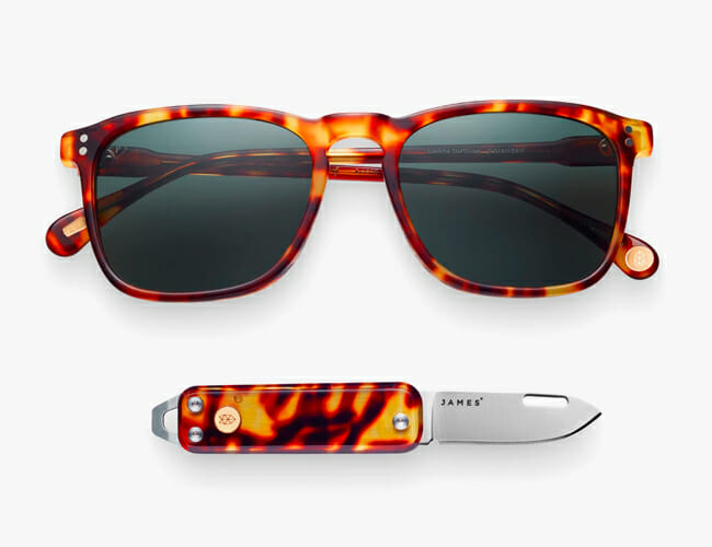 Our Favorite Knives and Sunglasses Now Come in the Same Cool Material