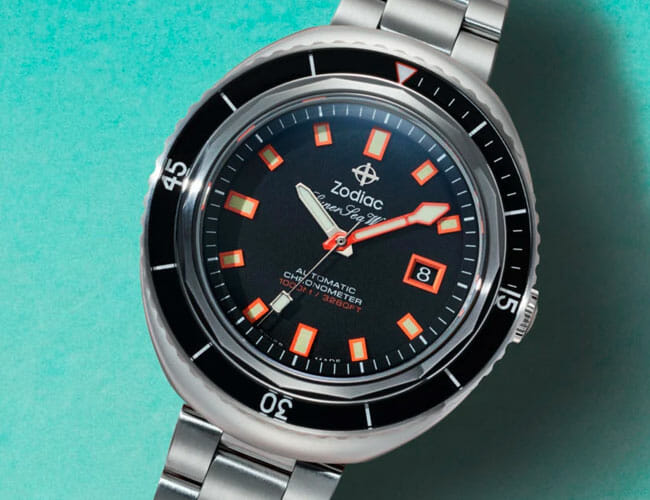 This Badass Dive Watch Is Now More Refined Than Ever