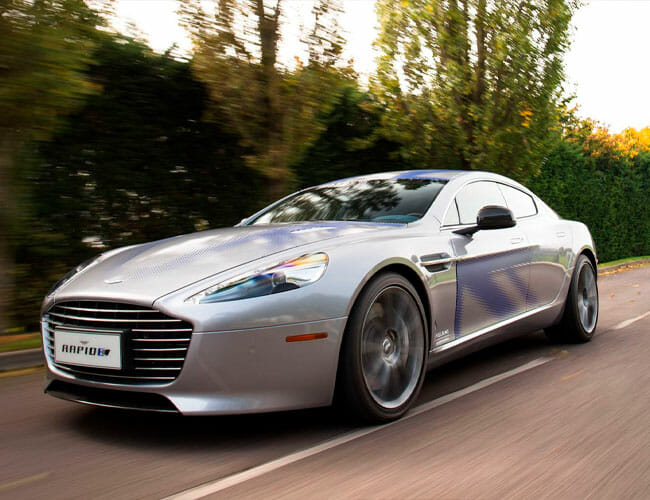 The Next Bond Car Will Be an Electric Aston Martin and That's Okay