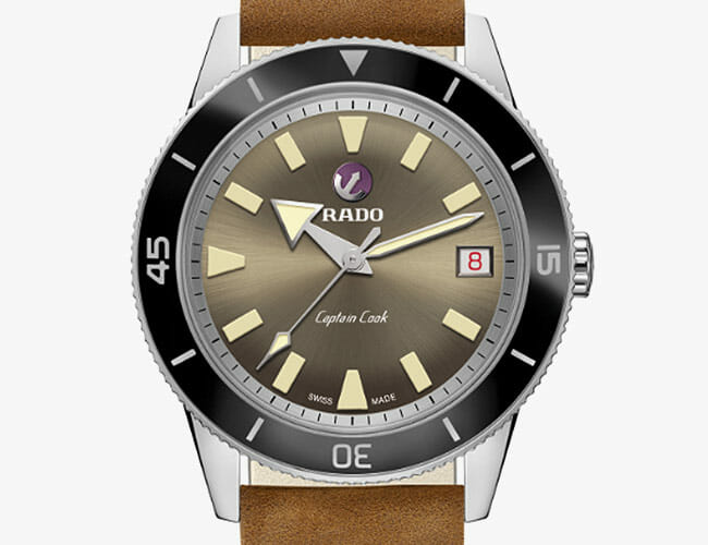Rado's Retro Dive Watch Gets Takes on A New Patina