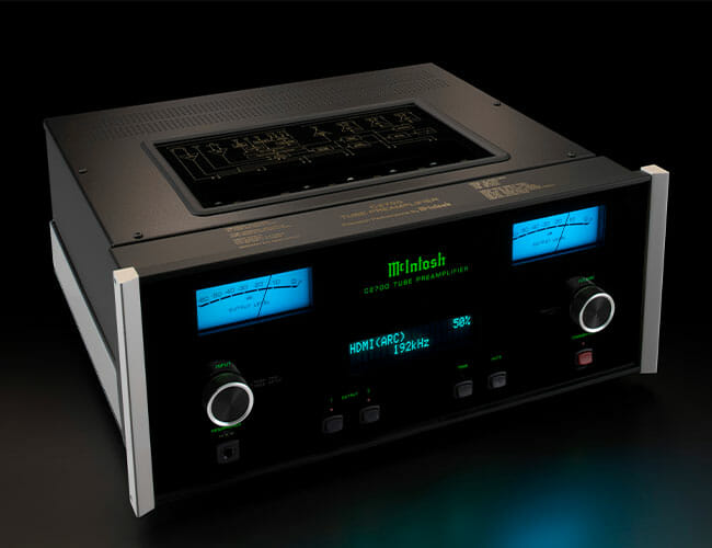 Audiophiles and Home Theater Buffs Will Love McIntosh's Gorgeous New Preamp