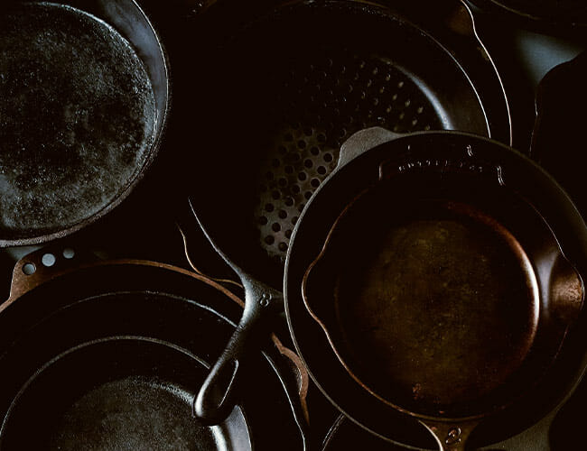 Here Is Sean Brock's Recipe for the Perfectly Seasoned Cast-Iron Skillet