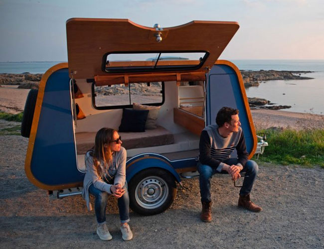 This French Camper Trailer Might Make You Want to Move to Europe