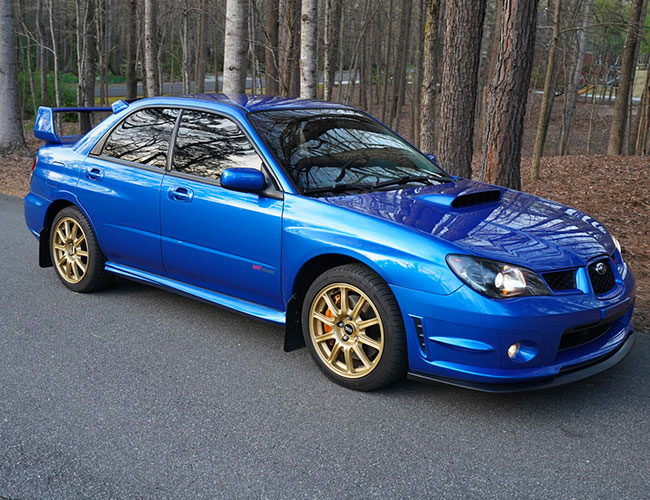 Looking For a Lightly Modified WRX STI? This Is the Jackpot