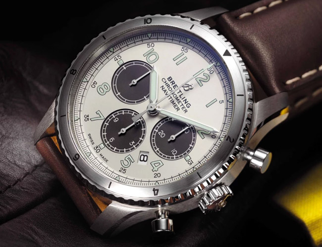 Breitling and Mr Porter Team Up to Create This Beautiful Vintage-Style Chronograph
