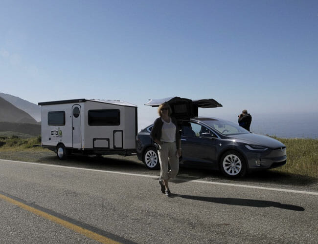 This Sleek Camping Trailer Wants to Help You Save the Planet