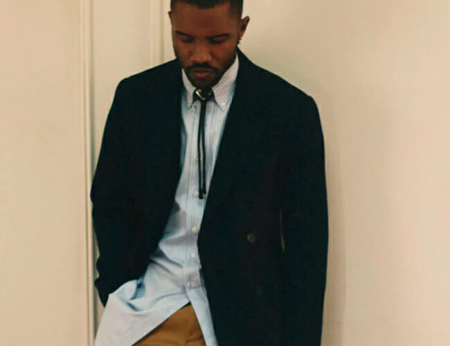 Frank Ocean Is the Face of Prada's Latest Campaign