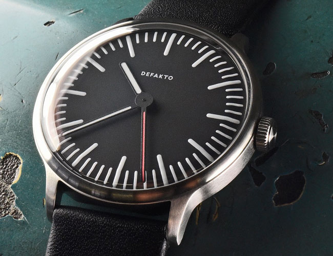 This German Brand Just Debuted an Awesome New Minimalist Watch