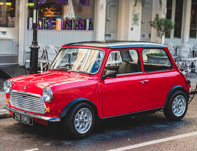 This Modernized Classic Mini Is the Perfect City Car