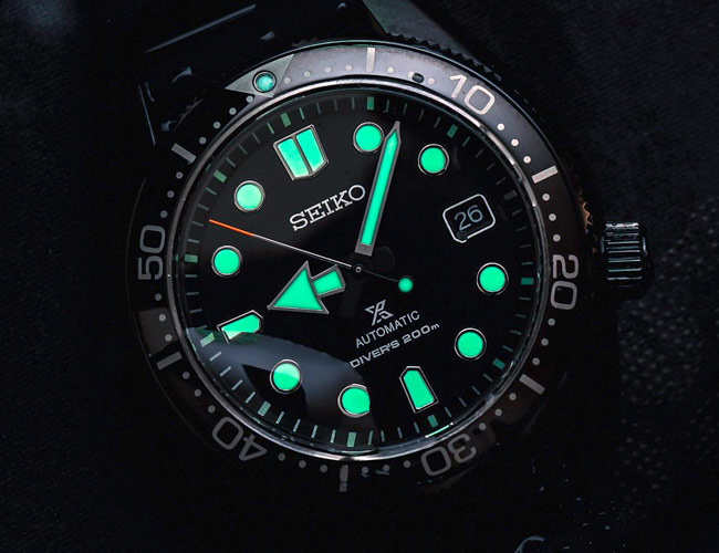 Seiko Teamed Up With a California Jeweler On a Stealthy Dive Watch