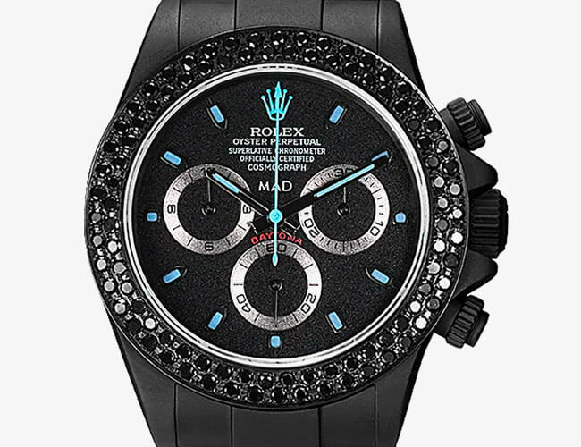 This Insane Rolex Daytona Proves Bling Can Be Stealthy Too