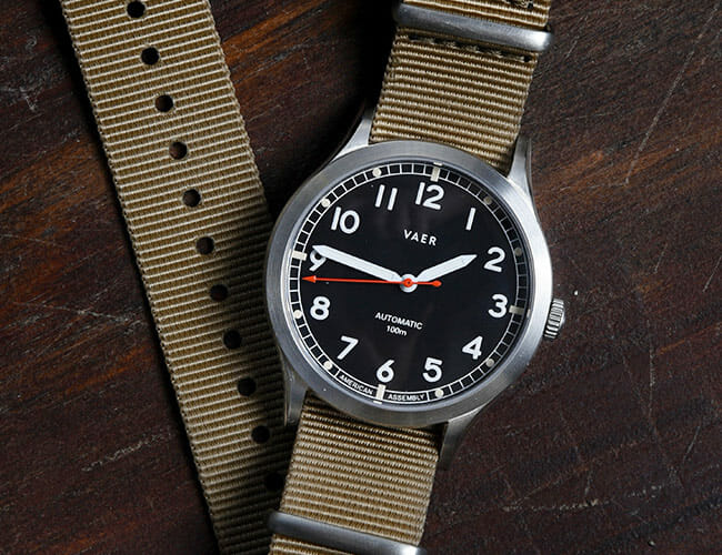 Get an Affordable Field Watch with Your Choice of Dial, Movement and Straps