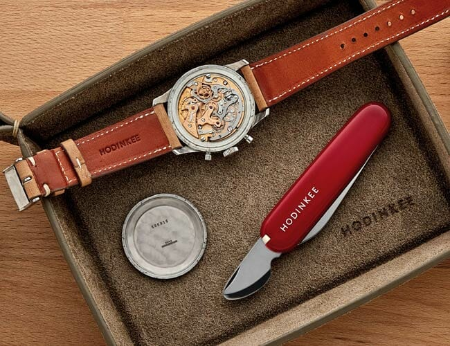 This Swiss Army Knife Features an Essential Tool for Watch Lovers