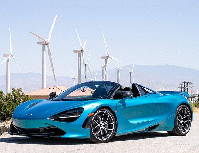 2020 McLaren 720S Spider Review: Pop the Top for Added Fun