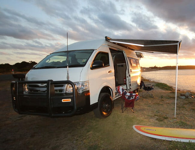 This Overlanding Toyota Camper Van is Made With Land Cruiser Bits