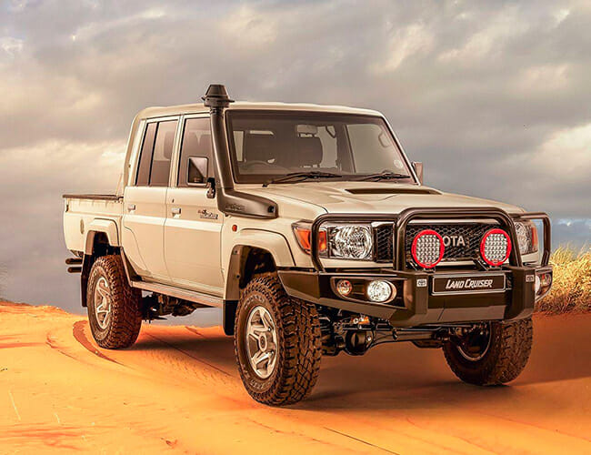 Toyota Sells the Vintage Land Cruiser–Based Truck of Your Dreams, Just Not In the U.S.