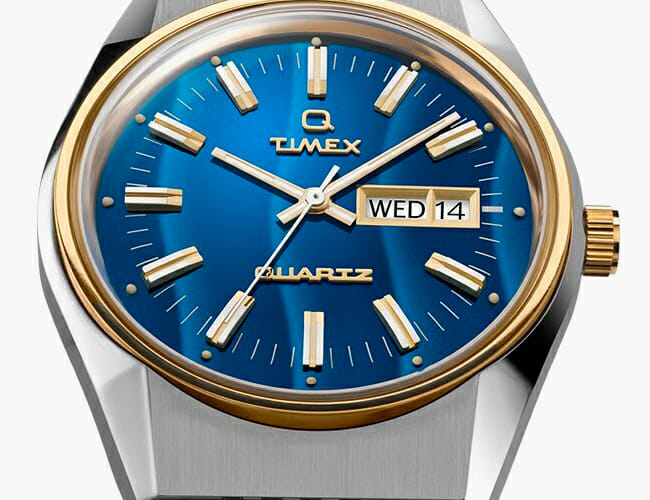 This Affordable Q Timex Vintage Reissue Watch Is Finally Available Again