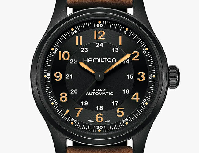 This Iconic Field Watch Is Even Better in Titanium