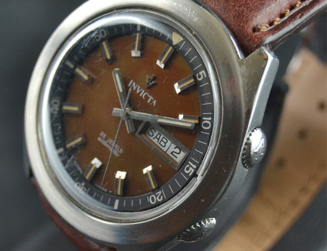 These Swiss-Made Vintage Invicta Watches Show the Brand's Forgotten History