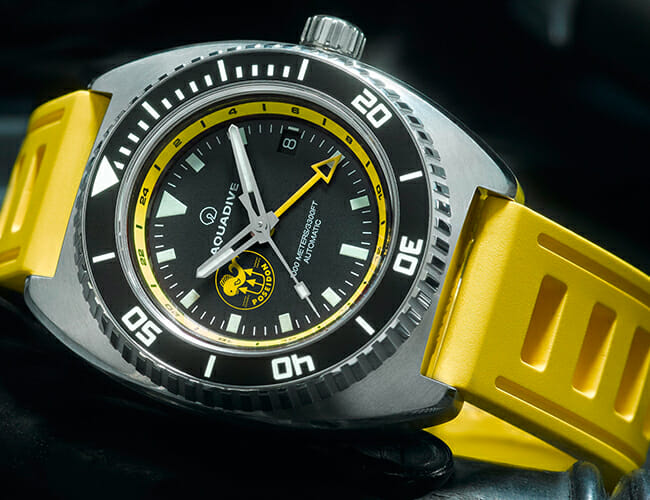 Two Storied SCUBA Brands Teamed Up on this Special Edition Watch