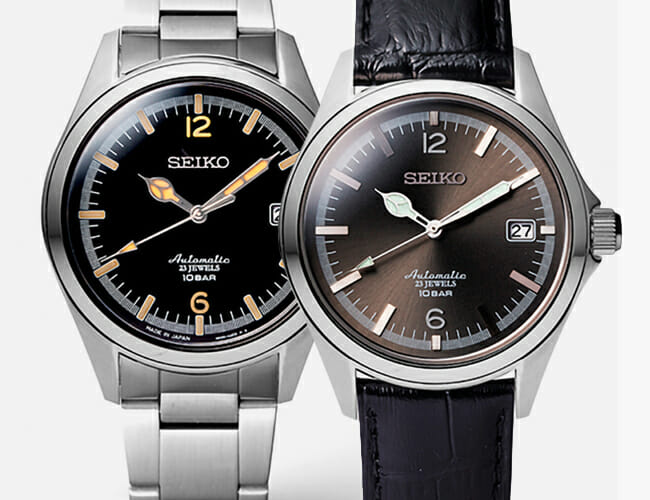 Seiko Just Released Two Beautiful Automatic Watches. But You Can't Have Them