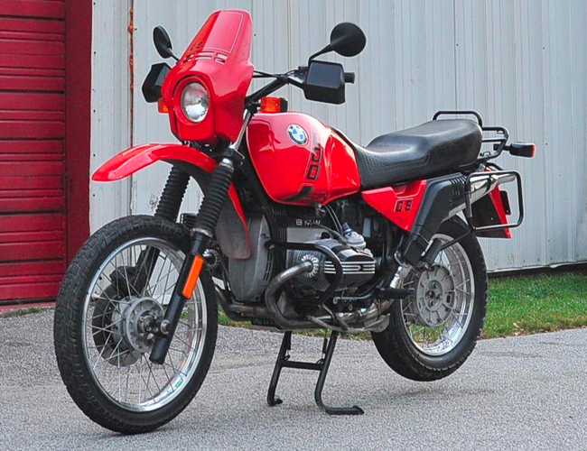 Embrace the Outdoors and Buy This Outstanding Vintage BMW Motorcycle