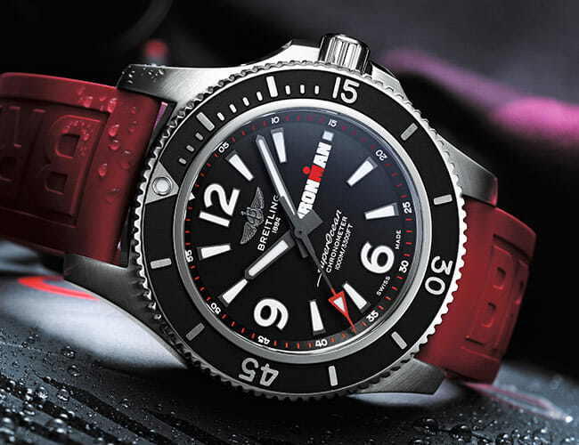 This Serious Dive Watch Is Made for the Toughest Triathletes