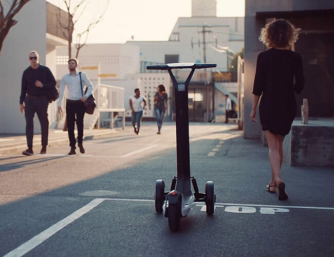 Segway's New Scooter Is Way Less Dorky, Can Drive Itself