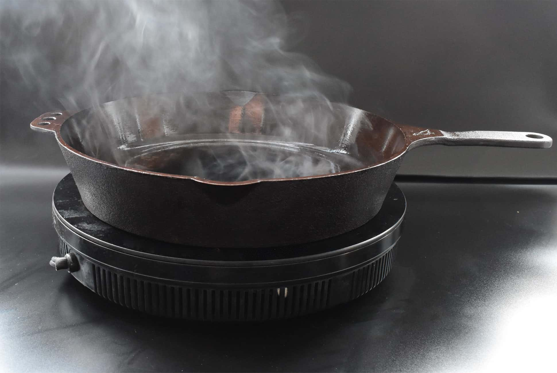 Having Problems Seasoning Your Cast-Iron Skillet? This Method Is Faster and Easier.