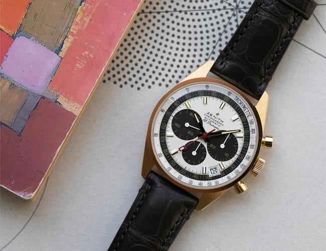 This Sporty Zenith Chronograph Watch Recreates a Vintage Icon