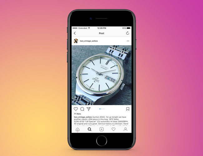 Why You Should Try Selling and Buying Your Watch on Instagram, According to an Expert