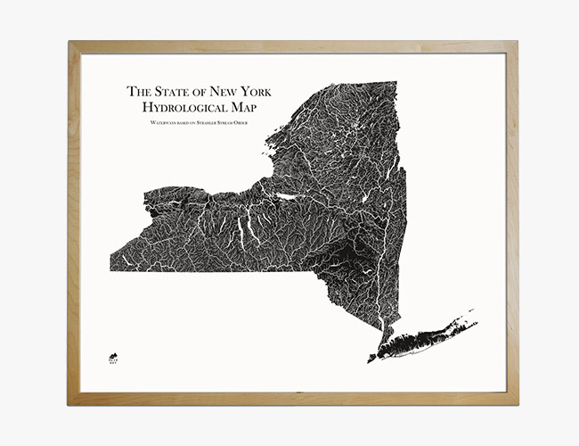 Muir Way's New Print Series Showcases the Beauty of Each State's Waterways