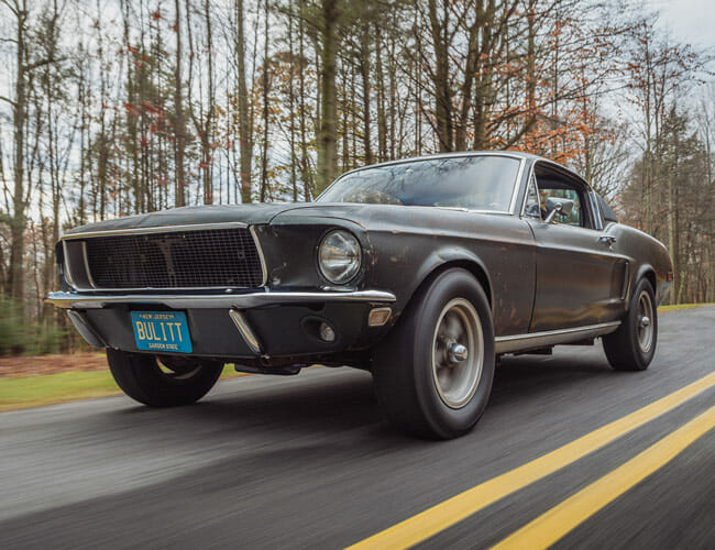 This Ford Mustang Is the Most Famous Ever Made, and It Will Be Auctioned