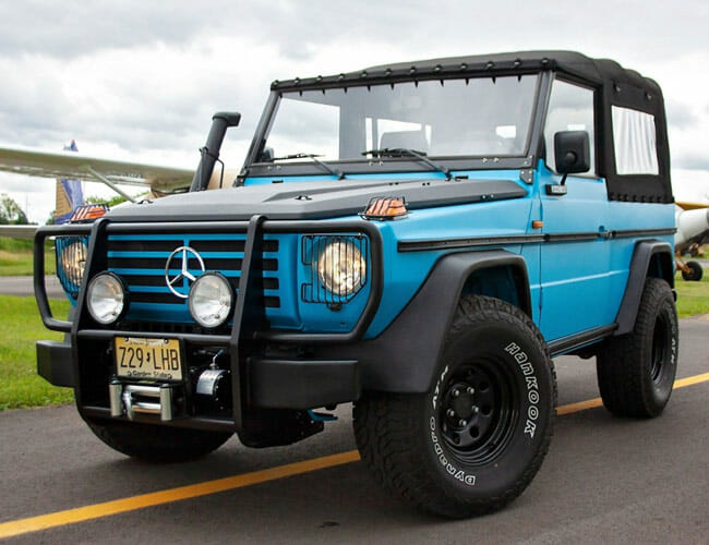 If You Love Old Land Rover Defenders, Check Out This Vintage Mercedes Wolf