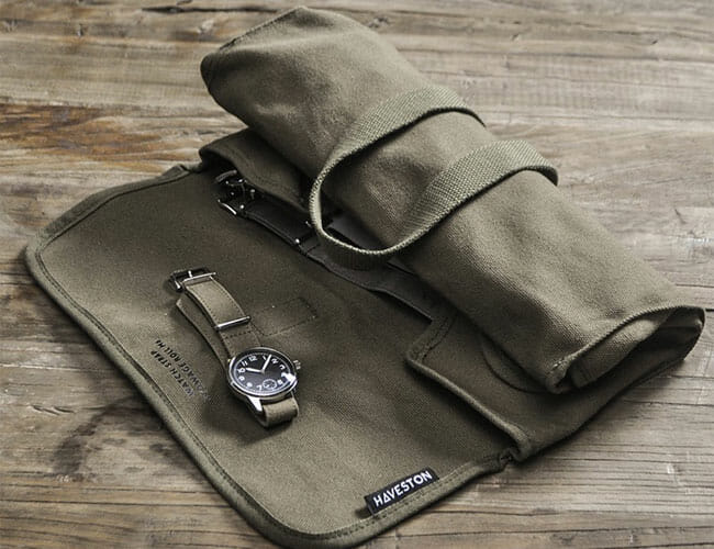 This Military Tool Roll Is Made Specially to Hold Watch Straps