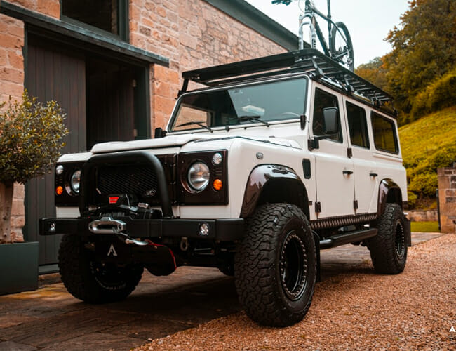 This Gorgeous Land Rover Defender Is Ready For Adventure