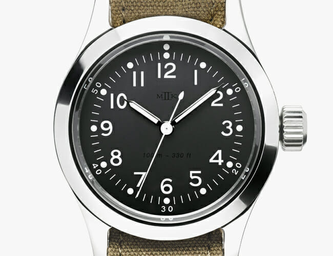 A Famous WWII-Era Military Watch Inspired This New Timepiece
