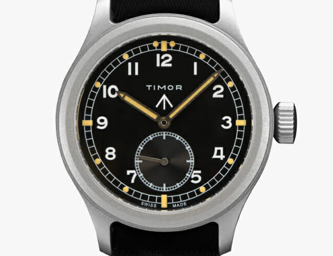 One of Our Favorite WWII-Era Military Watches Is Back