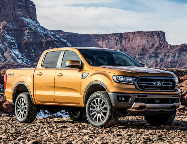 The New Ford Ranger Was Outsold By The Notably Ancient Nissan Frontier